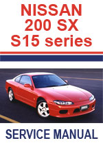 Nissan 200SX Silvia 1999-2002 Workshop Repair Manual