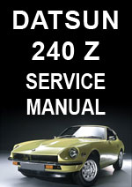 Datsun 240Z 1969-1972 Workshop Repair Manual