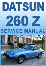 Datsun 260Z 1974 Workshop Repair Manual