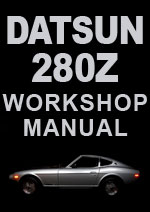 Datsun 280Z 1975 Workshop Repair Manual