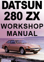 Datsun 280ZX S130 Series 1979-1983 Workshop Manuals