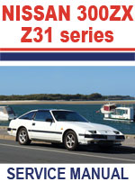 Nissan 300ZX 1984 Workshop Repair Manual