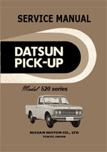 Datsun 520 Series Pickup 1965-1968 Workshop Repair Manual