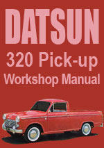 Datsun 320 Pick Up 1961-1965 Workshop Repair Manual