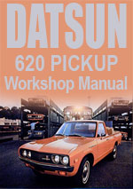 Datsun 620 Workshop Repair Manual