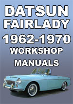Datsun Sports Fairlady 1962-1970 Workshop Manual
