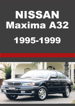 Nissan Maxima A32 Series 1995-1999 Workshop repair Manual