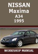 Nissan Maxima A34 1995 Workshop Repari Manual