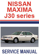 Nissan Maxima J30 1989-1994 Workshop Repair Manual