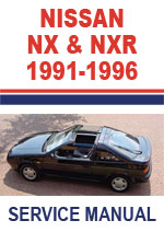 Nissan B13 Series NX Coupe Workshop Repair Manual