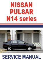 Nissan N14 Series Pulsar Workshop Repair Manual